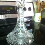 Ships Decanter, gifted to Sturbridge in 2002.