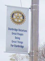 Rotary Park Banner