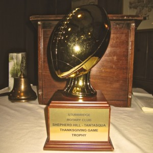 Sturbridge RC Football Trophy, small