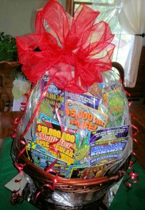 2014 Lottery Ticket Basket