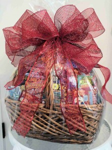 Fall Lottery Ticket Basket Fundraiser for the benefit of the Scholarship Fund.