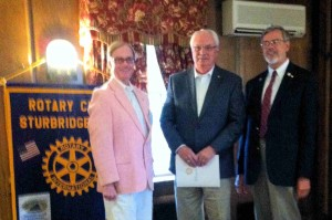 Charles Battersby induct, Bill, Klaus 5-23-2016