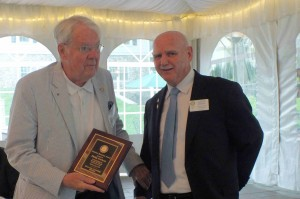 Phil - the Lifetime Rotarian Award for his many years on the Scholarship Committee and his continuous Club Service.