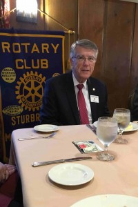 Assistant District Governor Cliff Gerber