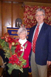 Glenys Hachfeld and President Otto