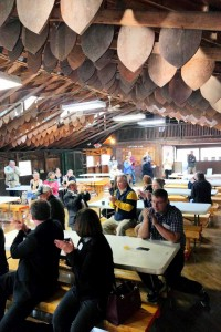 Dining Hall at Camp Day.