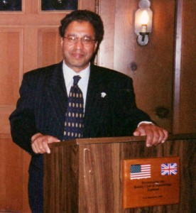 1985-86 President.  Photo taken in 2003