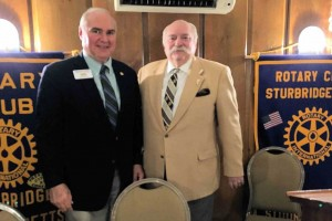 Bob (Left) with President Dave