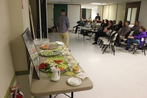 Open House Food, attendees 4-11-2018