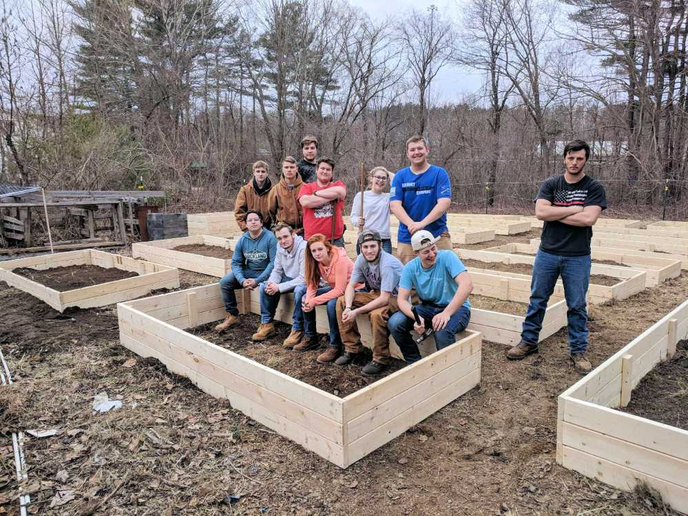 TRHS carpentry - April 14, 2018