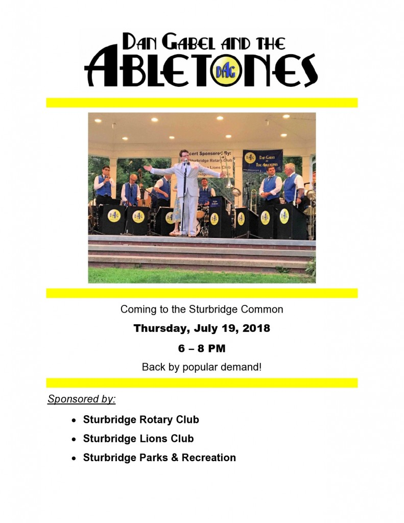 Abletones Poster - July 19, 2018