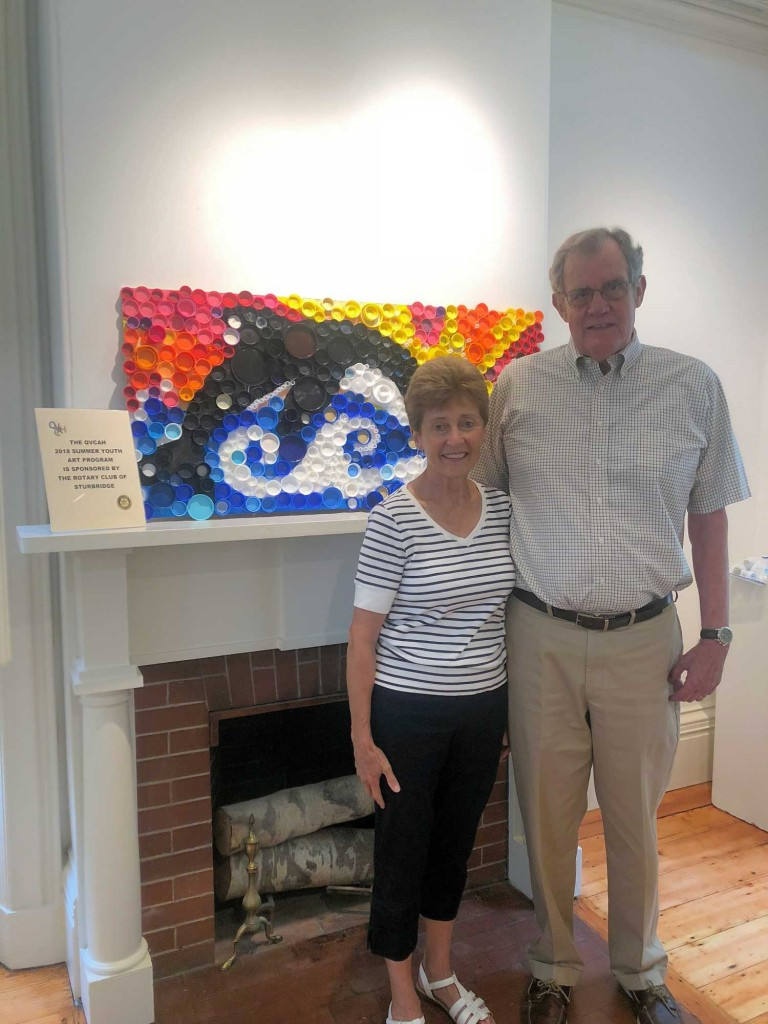 Bob, Pauline White - Art Center