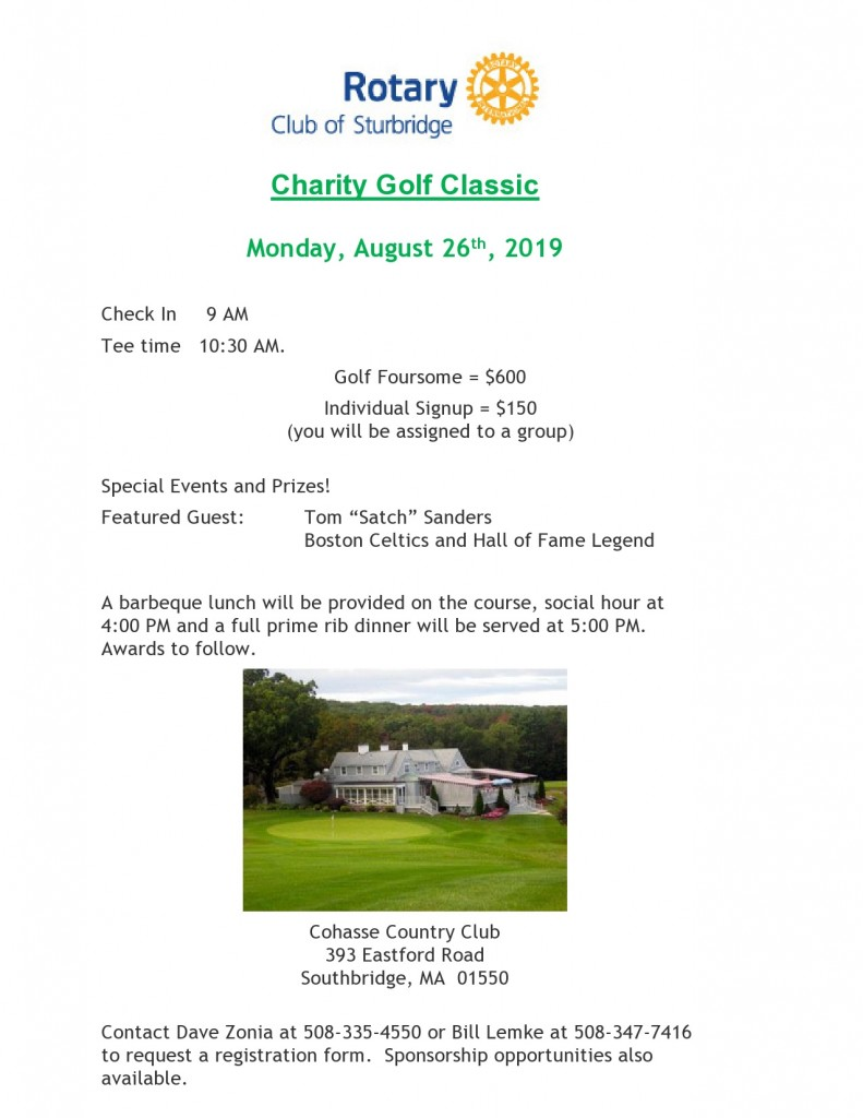 Aug. 26, 2019 - Golf Classic Poster