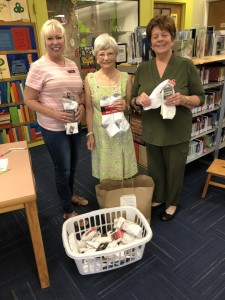 August - Sox Drive - Glenys, Linda, Library